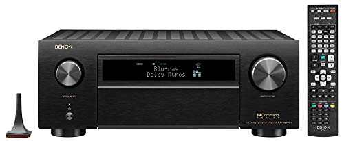 Best Price Denon AVR-X6500H Receiver - 8 HDMI in /3 Out, High Power 11.2 Channel (140 W/Ch) Amplifie...
