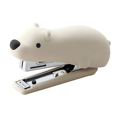MAX USA HD10NX/S Cute Animal Silicone Stapler Polar Bear – Special Edition HD10NX/S PB Stapler