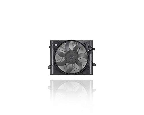 Engine Cooling Fan Assembly - Cooling Direct Fit/For CH3115175 11-13 Dodge Durano 3.6/5.7L, 11-13 Jeep Grand Cherokee 3.6/5.7/6.4L - Heavy-Duty Cooling - 55038994AI