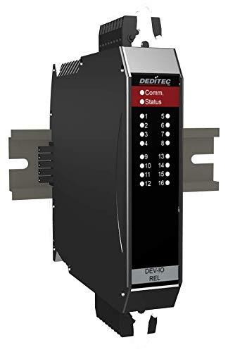 DEDITEC NET-DEV Modul mit 16 Optokoppler Eingängen