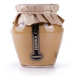 Crema de turrón de Jijona para untar 70% de almendra marcona, con Denominación de Origen Jijona - Alicante. Orcio de 200 gramos.