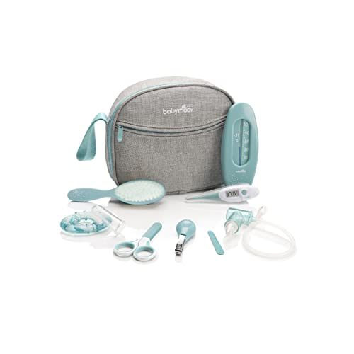 Babymoov Neceser para bebes, azul, 9 accesorios