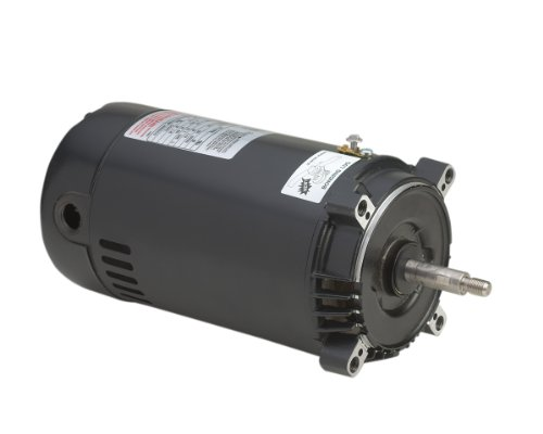 A.O. Smith ST1102 1 HP, 3450 RPM, 1.5 Service Factor, 56J Frame, Capacitor Start, ODP Enclosure, C-Face Pool Motor