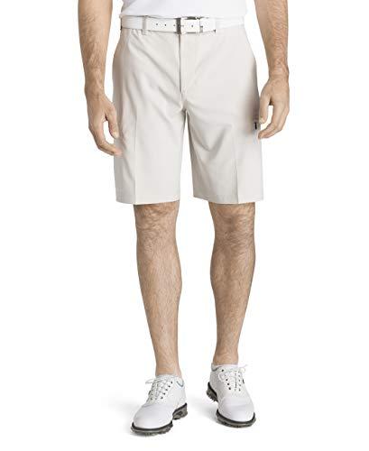 IZOD Men's Golf SwingFlex Cargo Short, Stonedust, 36