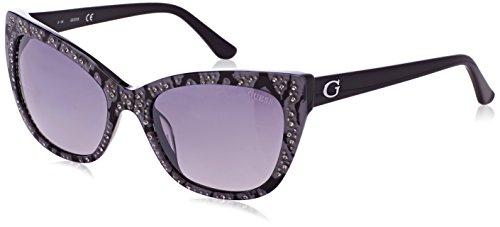 GUEX5 GU7438 5405B Sonnenbrille GU7438 5405B Schmetterling Sonnenbrille 54, Grau