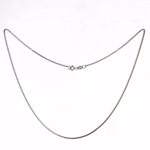 N/A Regalo de la joyería del Colgante del Collar de la Mujer Gargantilla Corta con Cadena de Palomitas de maíz, joyería para Mujeres y niñas