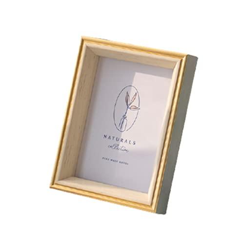 KAIHUI Kit De Artesanía De Marco De Fotos Grueso, Accesorios De Escritorio De Bricolaje, Varios Tamaños, Plexiglás. MDF, Marco De Decoración del Hogar A3(29.7x42cm)