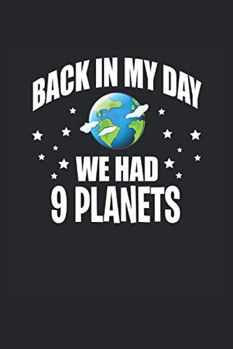Carnet De Notes: Cadeaux Drôles De Pluton Planète Astronomie 120 Pages, 6X9 (Environ A5), Grille À Point