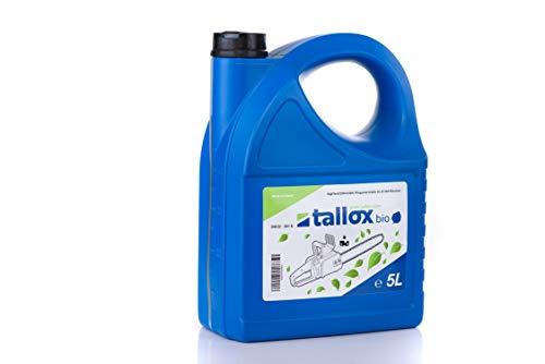 tallox Bio saegekettenoel 5L haftoel per catene per Motoseghe.
