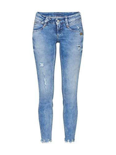 Gang Damen Jeans NENA Cropped Blue Denim 25