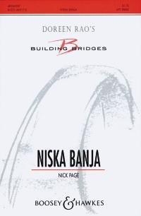 Niska Banja gemischter Chor (SAAB) oder Frauenchor (SSAA) und Klavier 4-händig