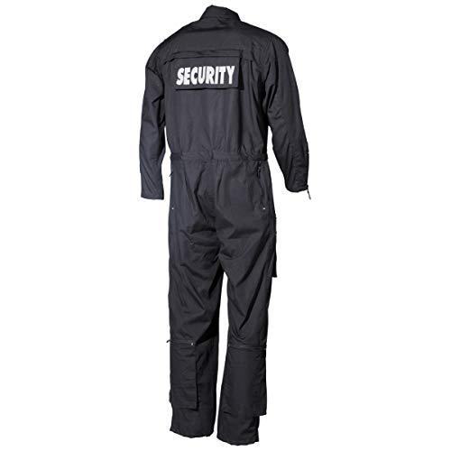 Overall, 'SECURITY' schwarz, Größe XXL
