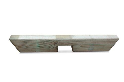GreenSeason.de Pergola Einzelreiter aus Holz B9 x H9 x L65 cm