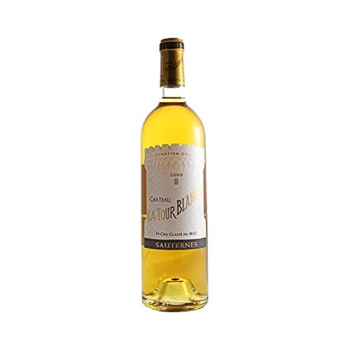 Château La Tour Blanche Weißwein 2009 - g.U. AOC Sauternes süßer - Bordeaux Frankreich - Rebsorte Sémillon, Sauvignon Blanc, Muscadelle - 75cl - 17.5/20 Jancis Robinson