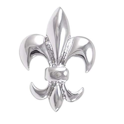Demarkt Lilien-Blume Brosche, Lily Manschettenknöpfe für Anzug, Mantel und Pullover