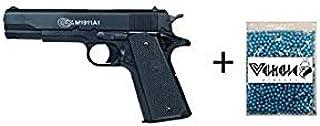 comprar comparacion COLT® Lote/Pack NFL Airsoft Pistola 1911 a1 h.p.a. (Joule <0,5) con un tobogán de Metal MAS 1000 Bolas 0.12GR PVC 6mm Valh...