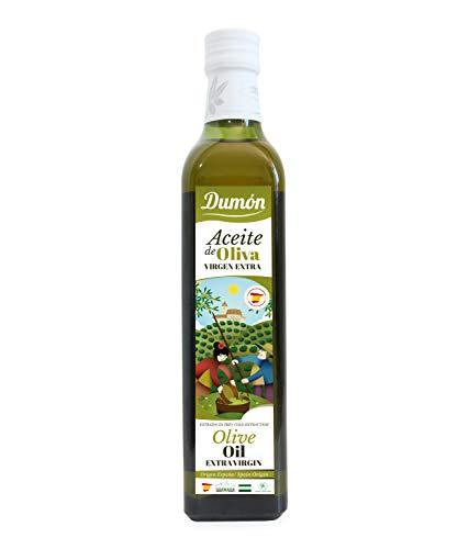 DUMON - Aceite de Oliva Virgen Extra 500 ML. Aceite Oliva Extra Virgen en botella de cristal