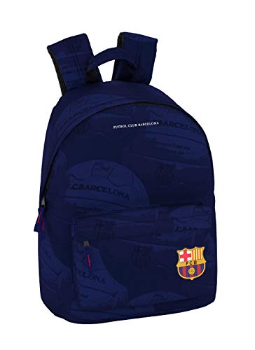"FC Barcelona Ball Oficial Mochila Juvenil Para Portátil 14,1"", 310x160x410mm"