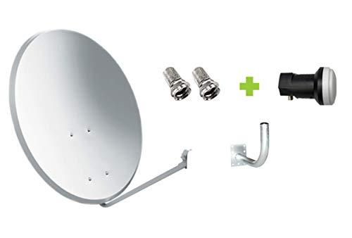 Kit Antena Parabólica GI 60 cm + LNB + Soporte