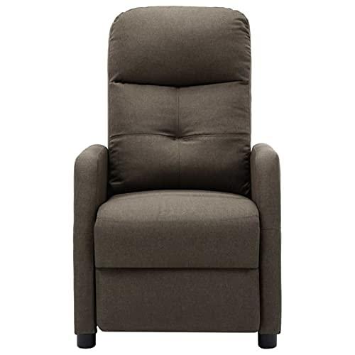 Susany Sillón de Masaje eléctrico de Gris Taupe Sillones y chaises Longues