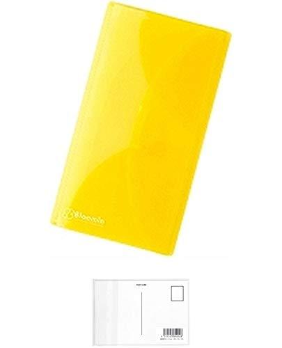 リヒトラブ チケットホルダー Bloomin ブルーミン F-7734 (5 レモンイエロー) 【× 2 パック 】 + 画材屋ドットコム ポストカードA