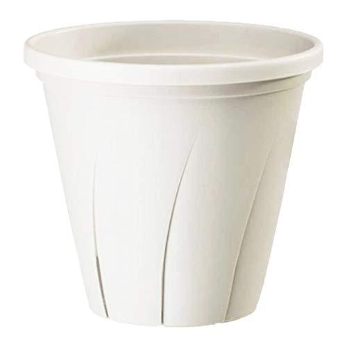 大和プラスチック 根はり鉢 6号 1.8L ホワイト