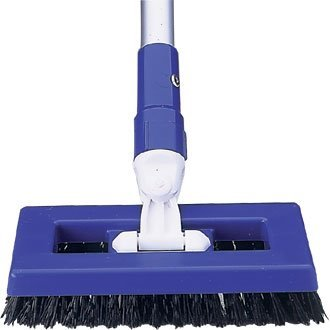 Tough 'Deck Scrubber Brush Blue - Ideal Way to Clean your Deck!