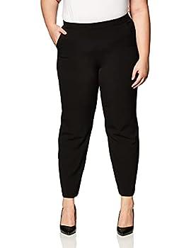 Briggs New York Women s Pull On Dress Pant Average Length & Short Length Black 16