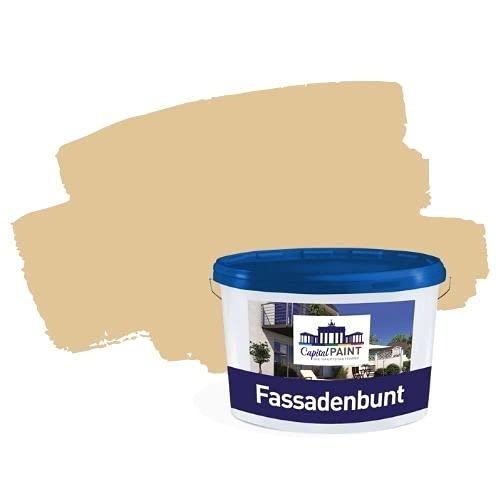 Capital Paint Dispersions- Fassadenfarbe mit Siloxan bunt Sand 3 5,0 Liter