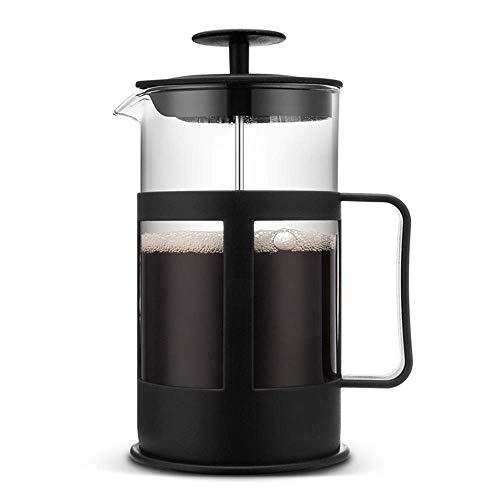 Olla de Prensa de café, Aparato de café, Filtro de Acero Inoxidable, Olla de Prensa de método de plástico, Enjoy Life