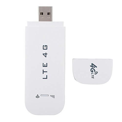 4G LTE Wifi Dongle, 100 Mbit/s USB Netzwerkadapter Drahtlose Netzwerkkarte, Plug & Play WiFi Hotspot Router Modem Stick bis zu 10 WiFi Benutzer