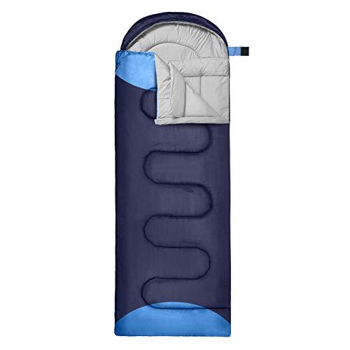 GIARIDE Camping Schlafsack 4 Jahreszeiten Warm und Kaltwetter Tragbarer, Wasserdichter Schlafsack für Erwachsene und Kinder, Reisen, Wandern, Rucksacktouren, Camping und im Freien