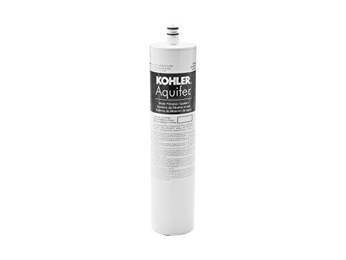 KOHLER 20852-NA Aquifer Water Filtration System Replacement Filter, White