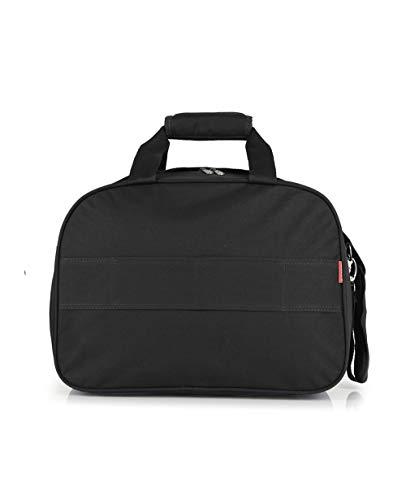 Gabol - Week | Bolso de Viaje Grande de Tela de 42 x 30 x 24 cm con Capacidad para 27 L de Color Negro