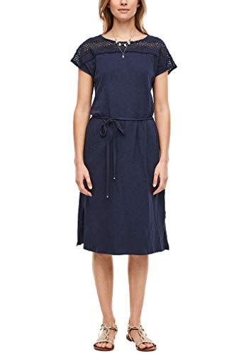 s.Oliver Damen Kleid kurz dark blue 38