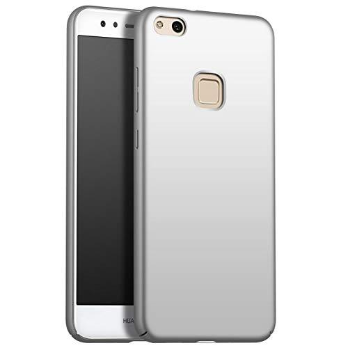 Huawei P10 lite Case Hoesje, luxe ultradunne berijpte harde pc Volledige beschermende achterkant Matte Shell telefoonhoes Huawei P10 lite(Scherm weergeven 5.2 Inch)