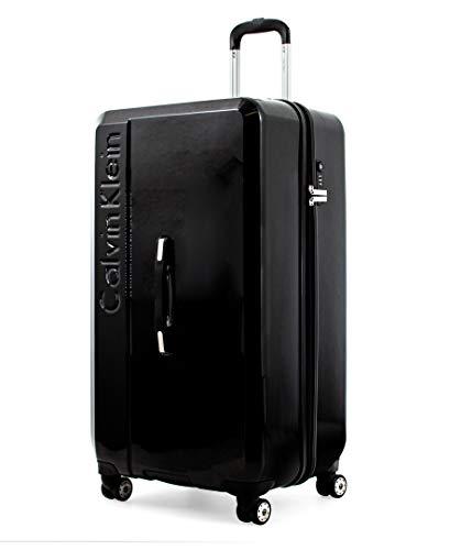Calvin Klein Libertad 2.0 Spinner Luggage Trunk, Black
