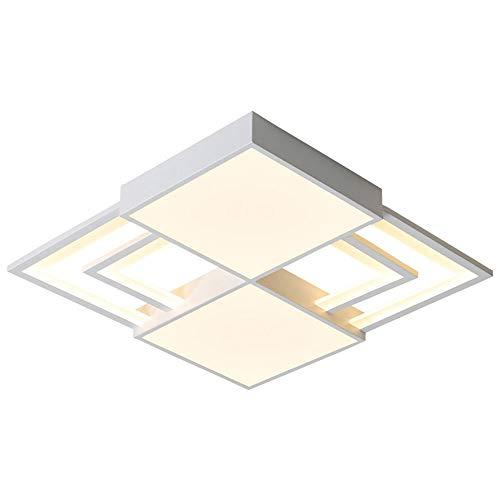 LED plafondlamp 36 W moderne dimbare woonkamerlamp eenvoudig plaats plafondlamp metaal ultradunne plafondlamp hanglamp acryl verlichting slaapkamer keuken eetkamer verlichting wit