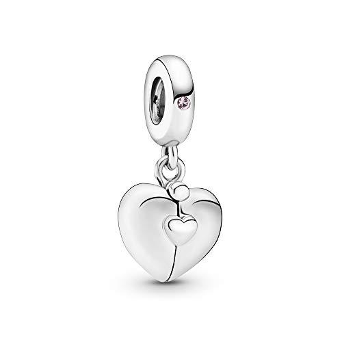 Pandora Damen-Bead Charms 925 Sterlingsilber Kristall 797615EN130
