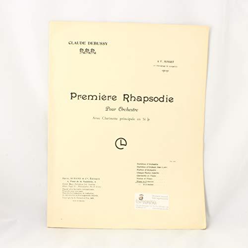 1 Rhapsodie Piano (Transcrit Par Jacques Charlot