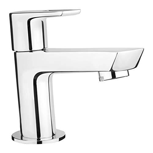 baliv KV-4010 Kaltwasserventil verchromt | Waschtischarmatur für Gäste-WC und sonstige Orte, wo warmes Wasser gespart werden kann