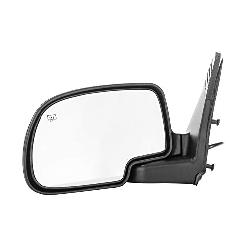Dependable Direct Left Side Heated Power Operated Mirror for 00-05 Chevy Suburban, -