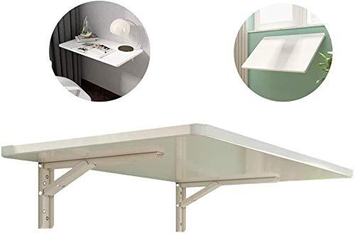 Aan de muur bevestigde vloer table Klaptafel for wandmontage huisopslag tafel computer tafel, ruimtebesparend, waterdicht en eenvoudig te installeren, die worden gebruikt in de keuken kantoor laptop b