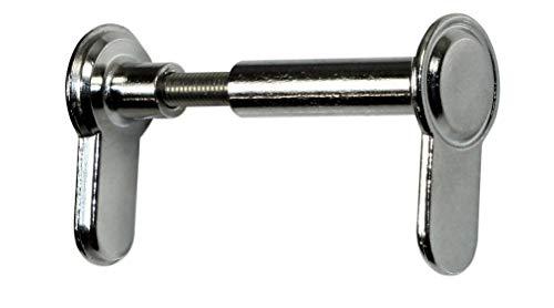 SN-TEC Blindschloss/Blindzylinder, variabeler Einstellbereich von 45 bis 125 mm