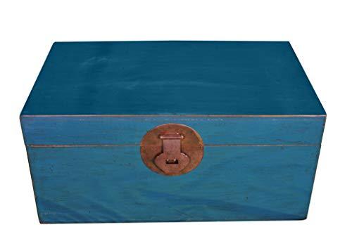 Fine Asianliving Chinesische Aufbewahrungskiste Orientalische Möbel Truhe Holztruhe Dekotisch Truhenbank Massiv Holz Groß Deckel Couchtisch Tischtruhe Sitztruhe Truhe Antik 0 x 0 x 0cm