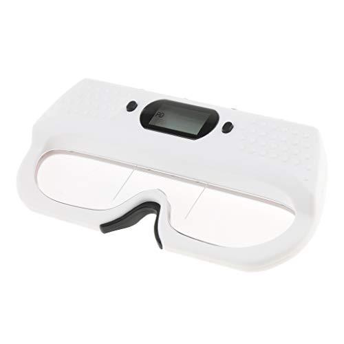 Fenteer Kunststoff Optische PD Lineal aus ABS Pupillendistanz Lineal für Entfernung Zwischen den Pupillen