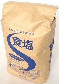財団法人 塩事業センター 日本産(国産塩) 食塩(日本の海水) 5kg×2袋
