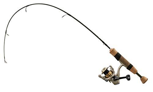 13 FISHING Unisex-Erwachsene Microtec Walleye EIS-Angelrute und -Rolle, grün/Gold, 28