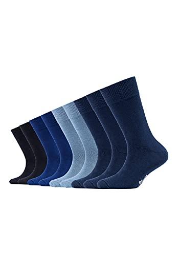 s.Oliver Kinder Socken, 9er Pack - Gr. 35-38 - Blue