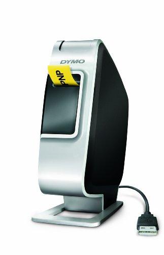 Dymo Plug N Play Tisch-Etikettiergerät USB Lithium-Ionen Akku D1 druckt 2 Zeilen